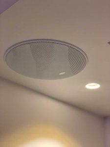 KEF Ceiling Speaker - Custom Installation Sonos Multiroom Audio